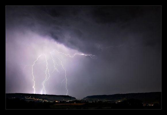 Gewitternacht überm Wehntal