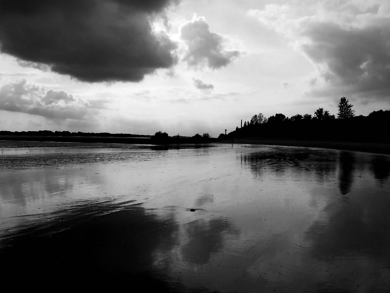 Gewitterstimmung am Falkensteiner Ufer