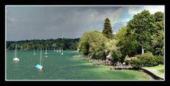 Gewitterstimmung am Starnberger See