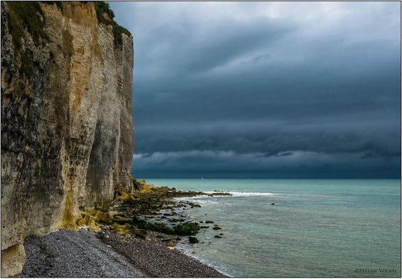 Gewitterstimmung an der Alabasterküste