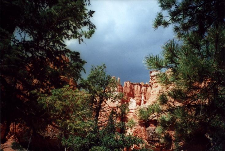 Gewitterstimmung im Bryce Canyon