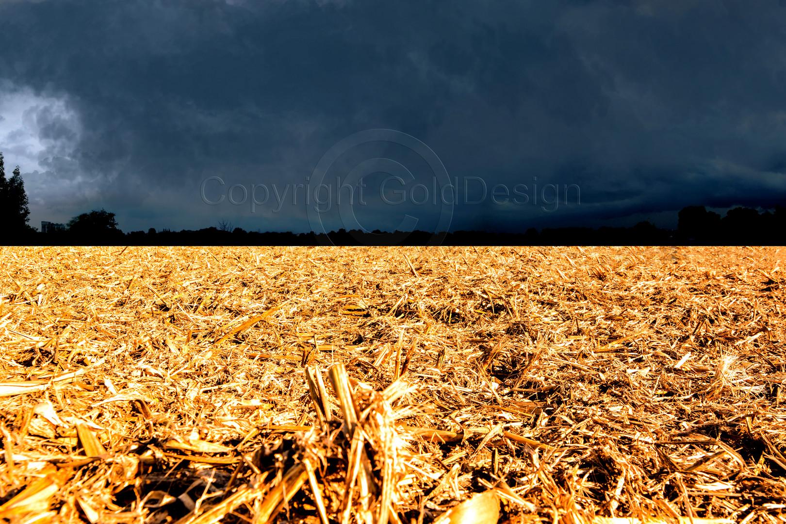 Gewitterstimmung im Herbst