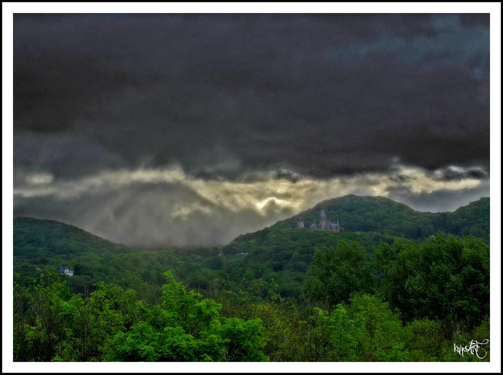 Gewitterstimmung im Siebengebirge
