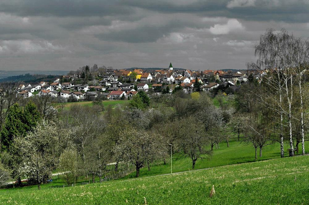 Gewitterstimmung über Kohlberg