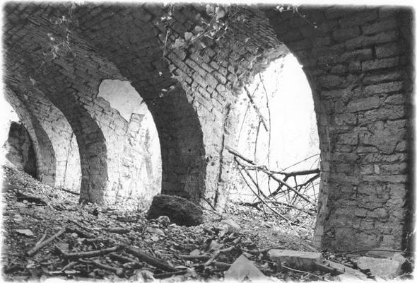 Gewölbe im Pottendorfer Schloss