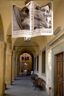 Gewölbegang in Arezzo