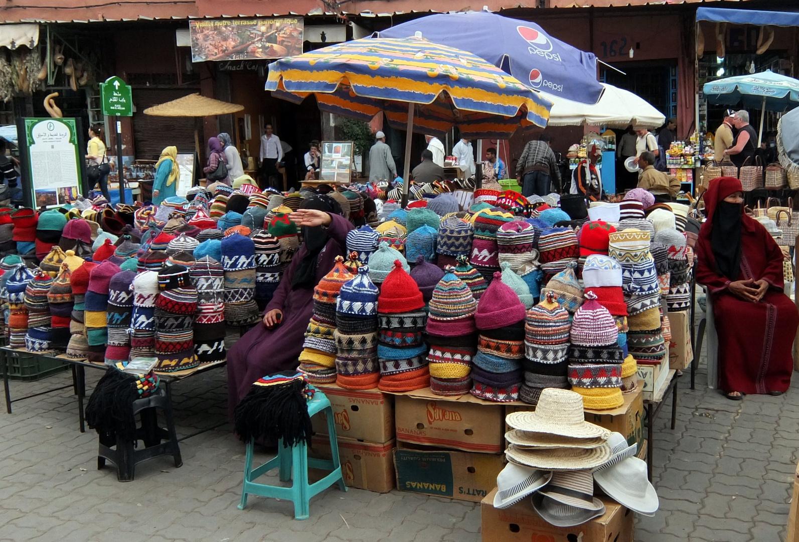 Gewürzmarkt in Marrakesch