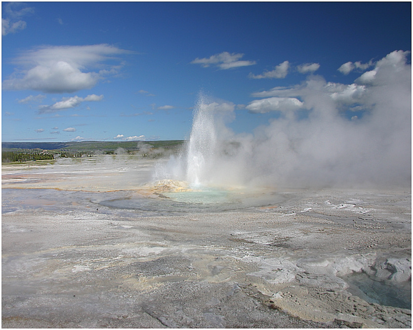 Geysir im Yellowstone