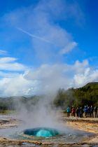 Geysir - kurz vor dem Ausbruch