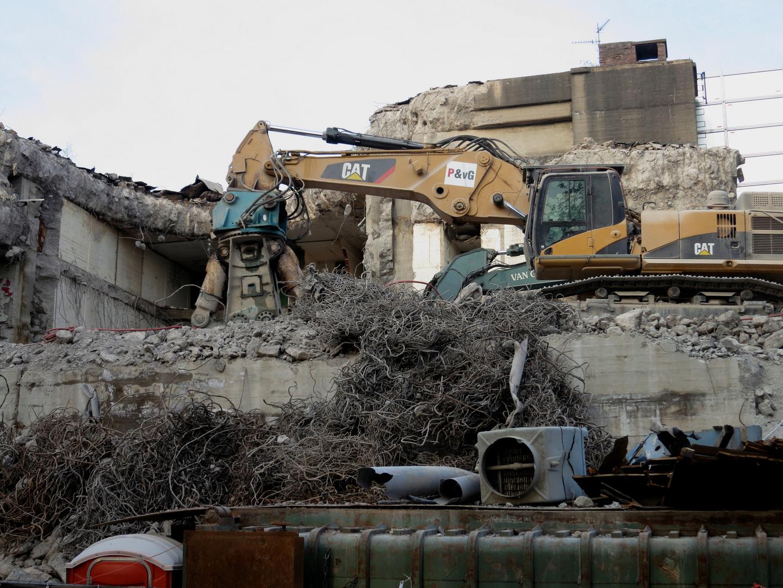 Gezielte Zerstörung urbaner Landschaft