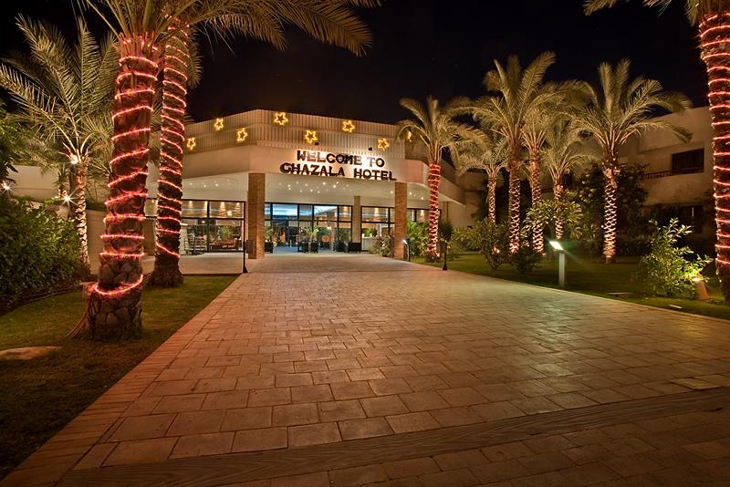 Ghazala Beach by Night
