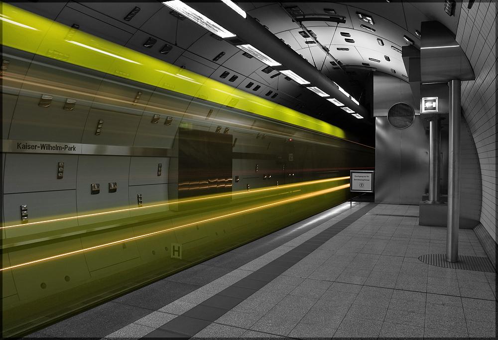 Ghost Train II - Kaiser-Wilhelm-Park in Essen