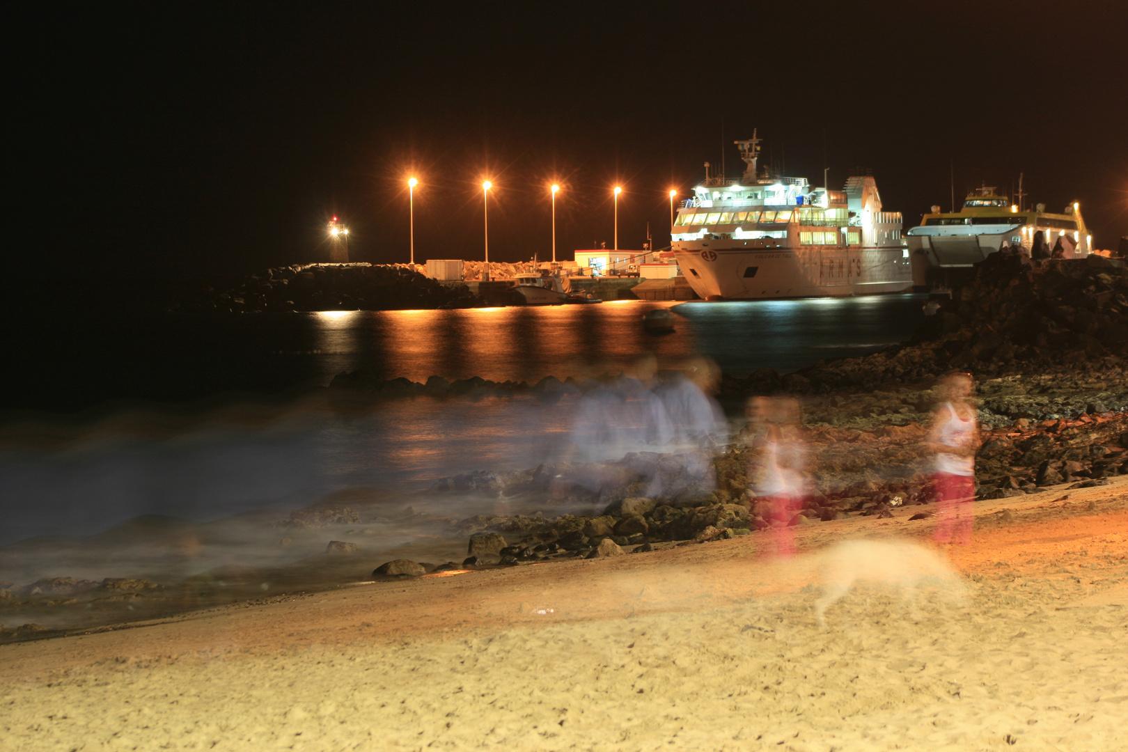 Ghosts in Playa Blanca