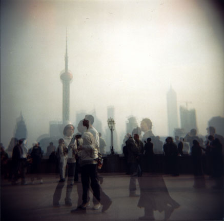 Ghosts on the Bund . Shanghai, 2004