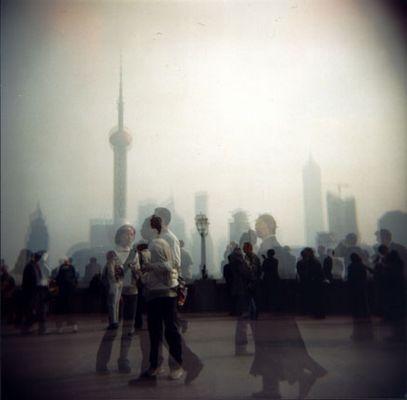 Ghosts on the Bund . Shanghai, 2004