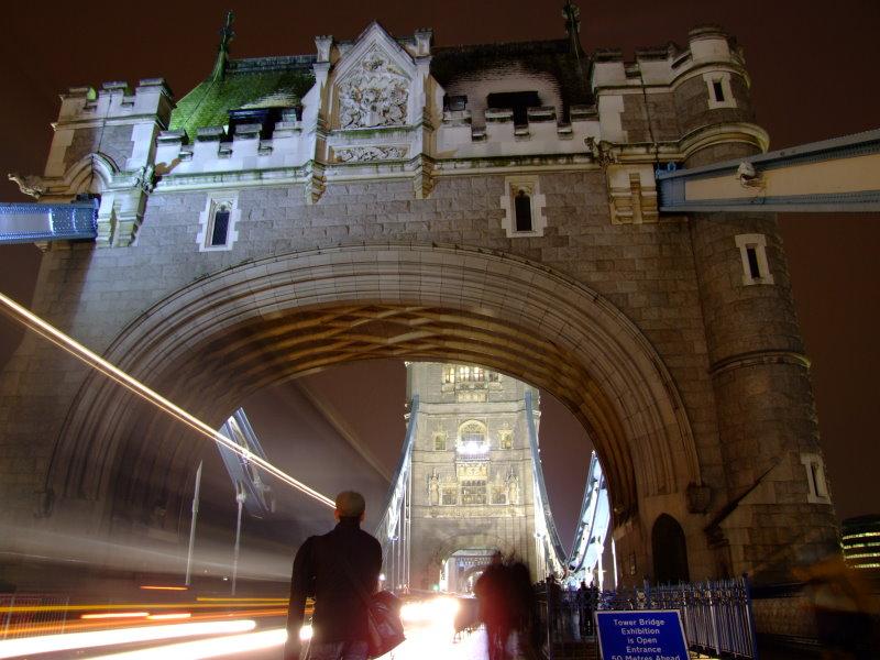 ghosts on Tower Bridge London