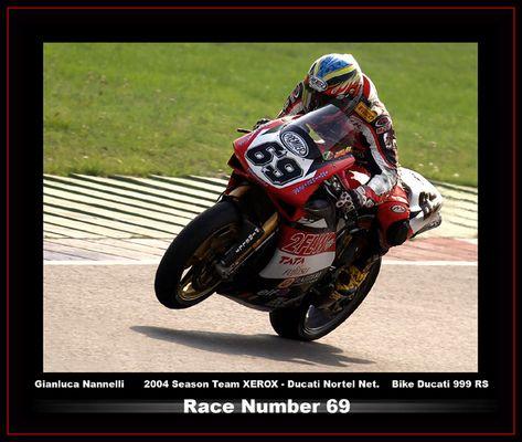 Gianluca Nannelli - Driver #69#