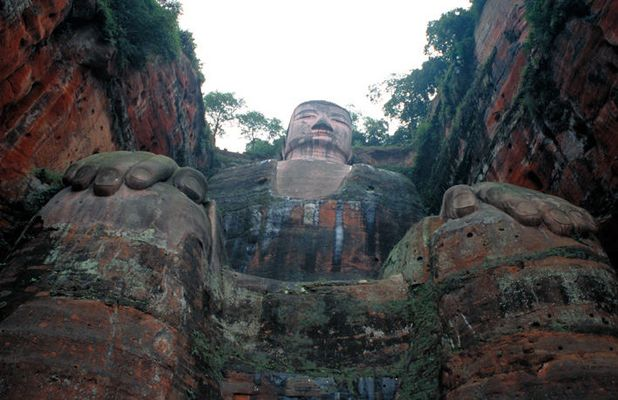 Giant Buddha, Sichuan Province