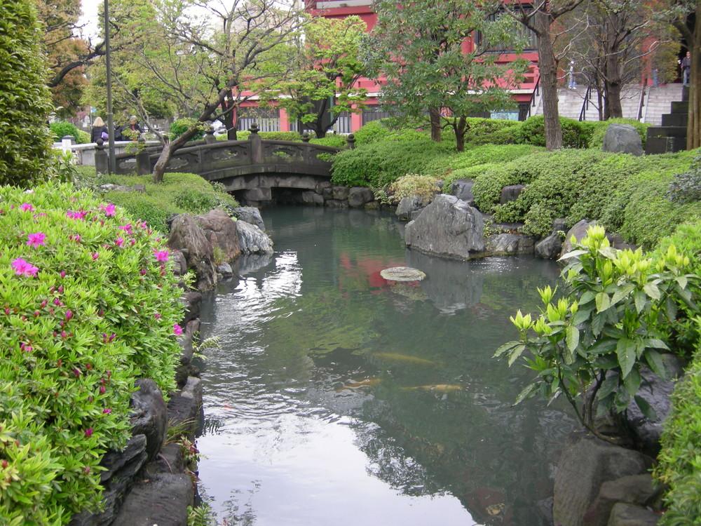 Giardino di Asakusa, Tokyo
