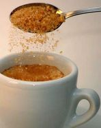 Gib dem Espresso Zucker...!