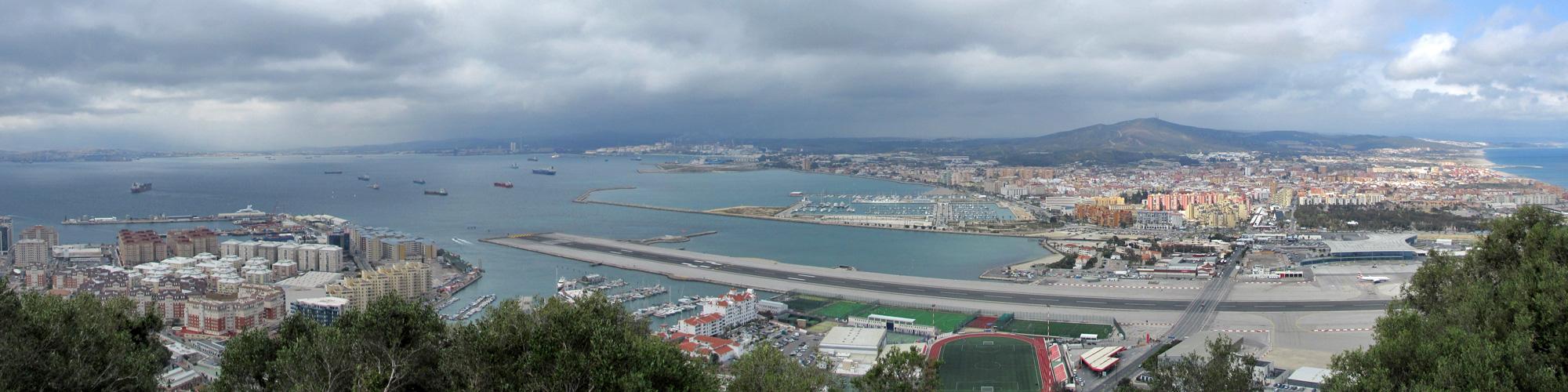 Gibraltar - Im Norden