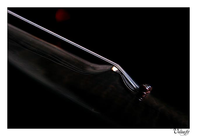 Gibson Les Paul Acoustic Custom Shop - Trans Black