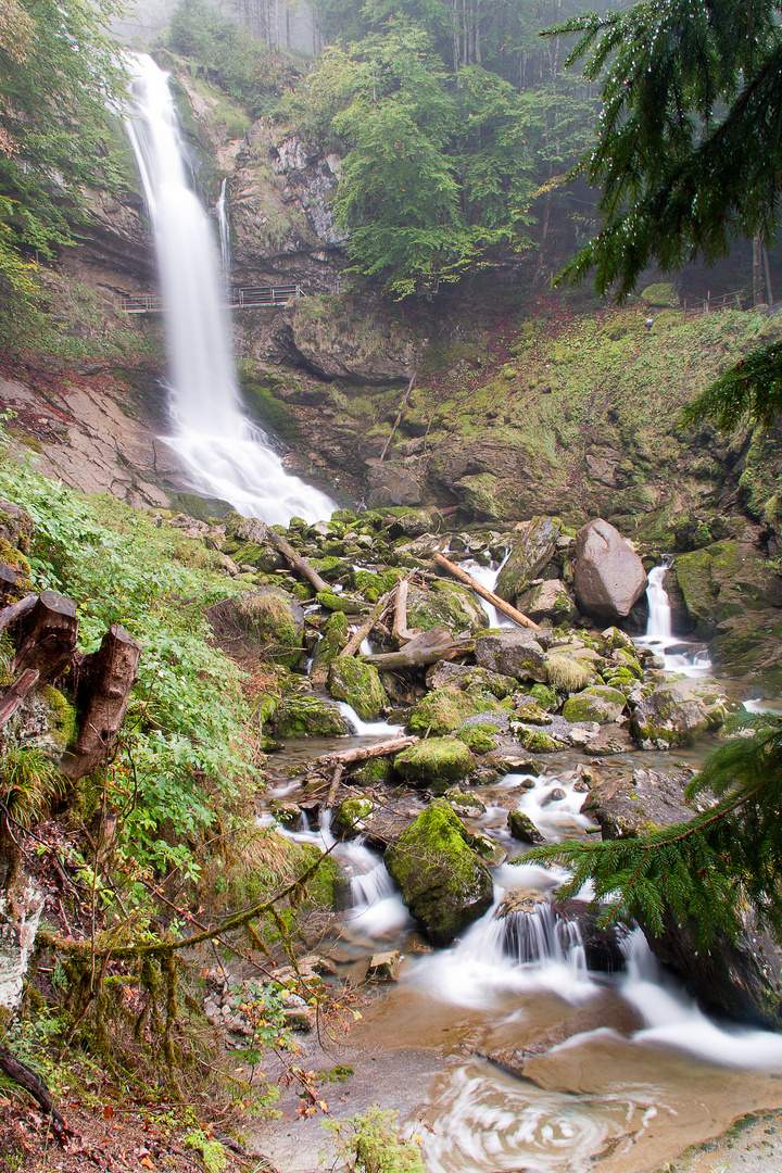 Giessbach Wasserfall Axalp (Schweiz)