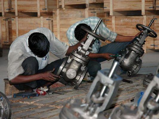 Gießerei in Indien