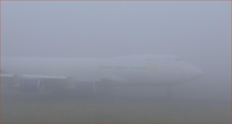 Gigant im Nebel.