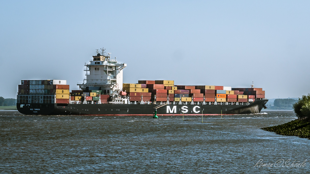 """Giganten der Meere - die """"MSC TAMARA"""""""