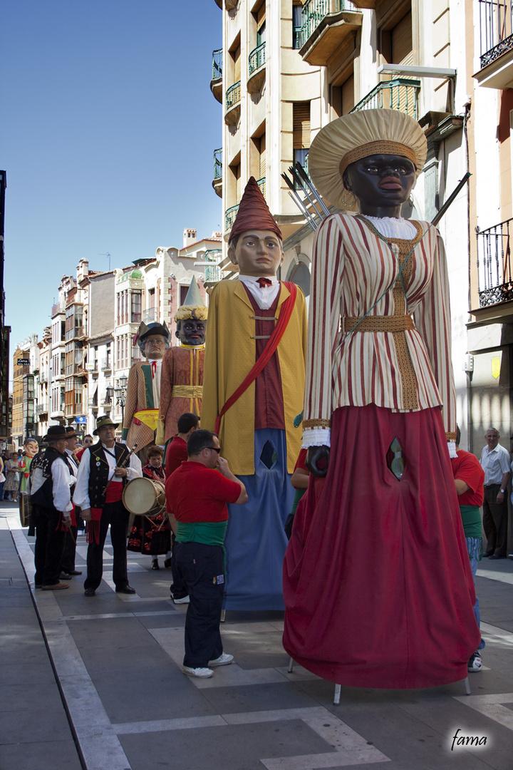 Gigantes en Zamora