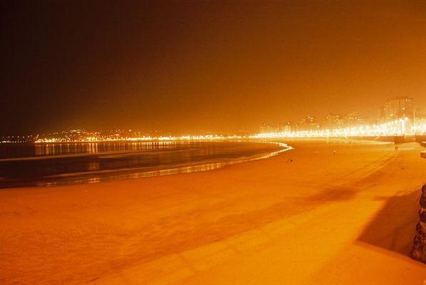 Gijon By Night