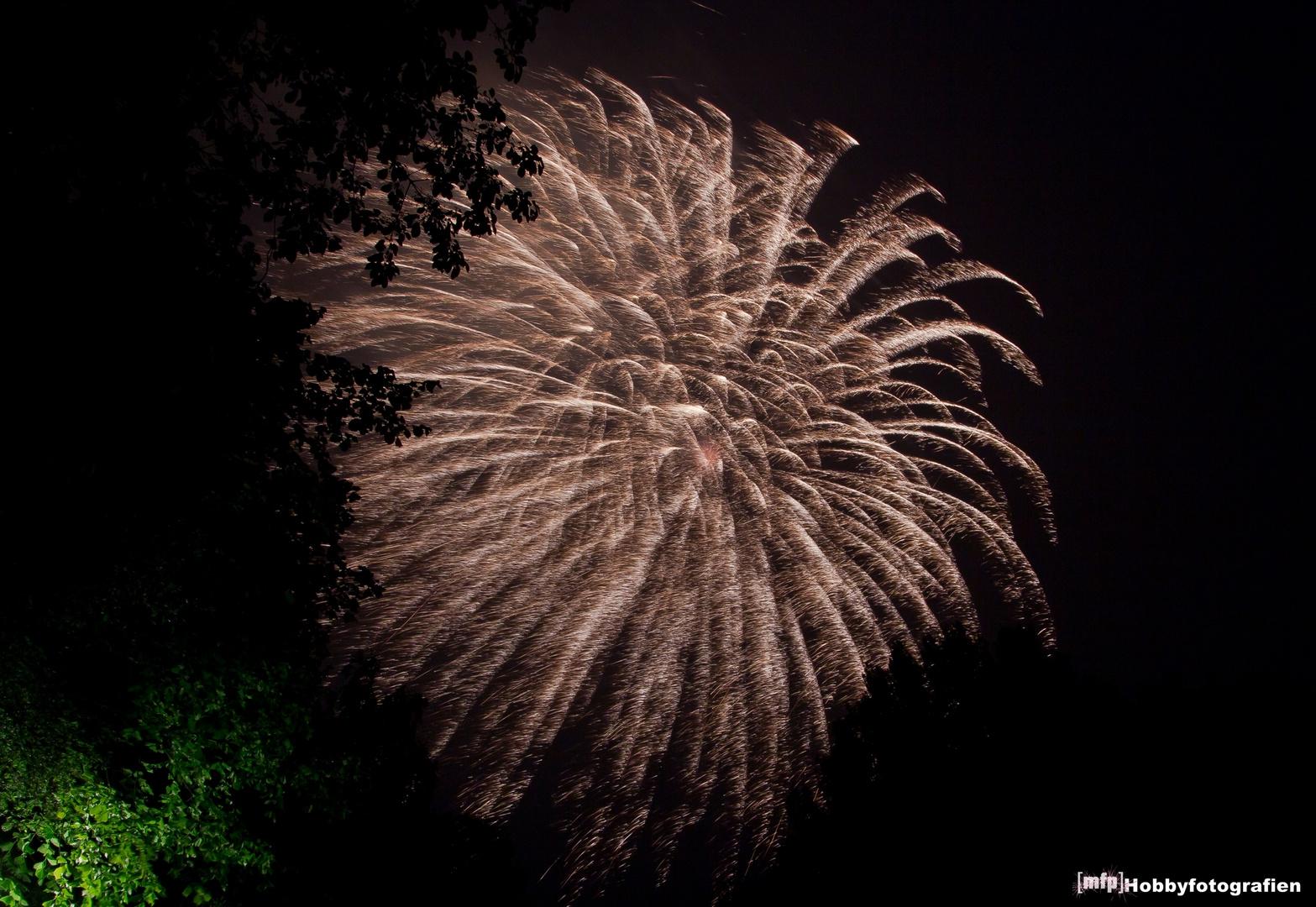 Gildefest Wildeshausen 2013 - Feuerwerk -