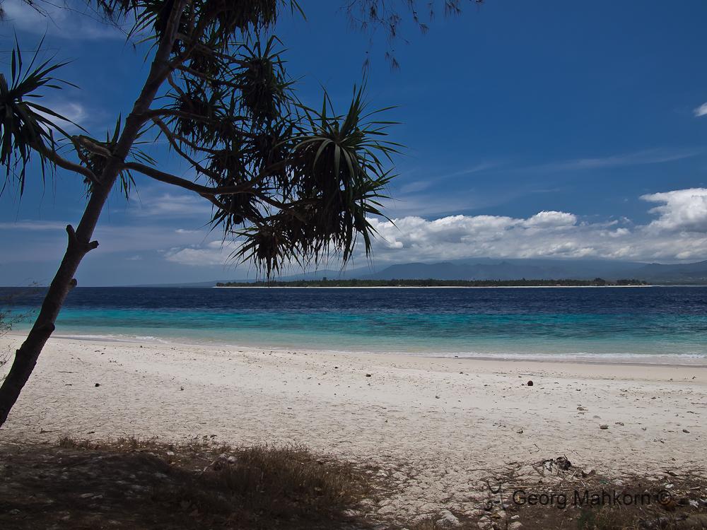 Gili Island - Meno from Trawangan