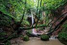 Gillenbach - Wasserfall bei Trier neu bearbeitet