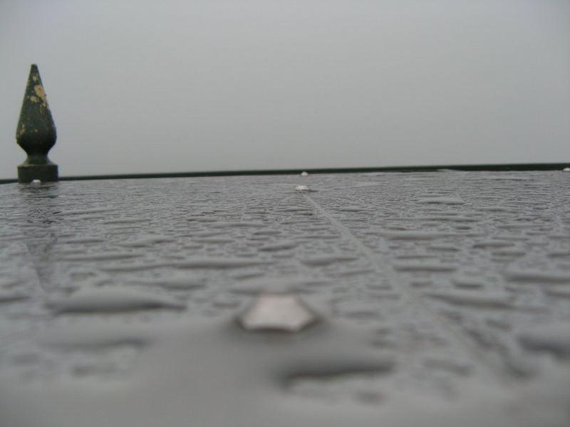 Gillerturm Lützel bei Regen ;o)