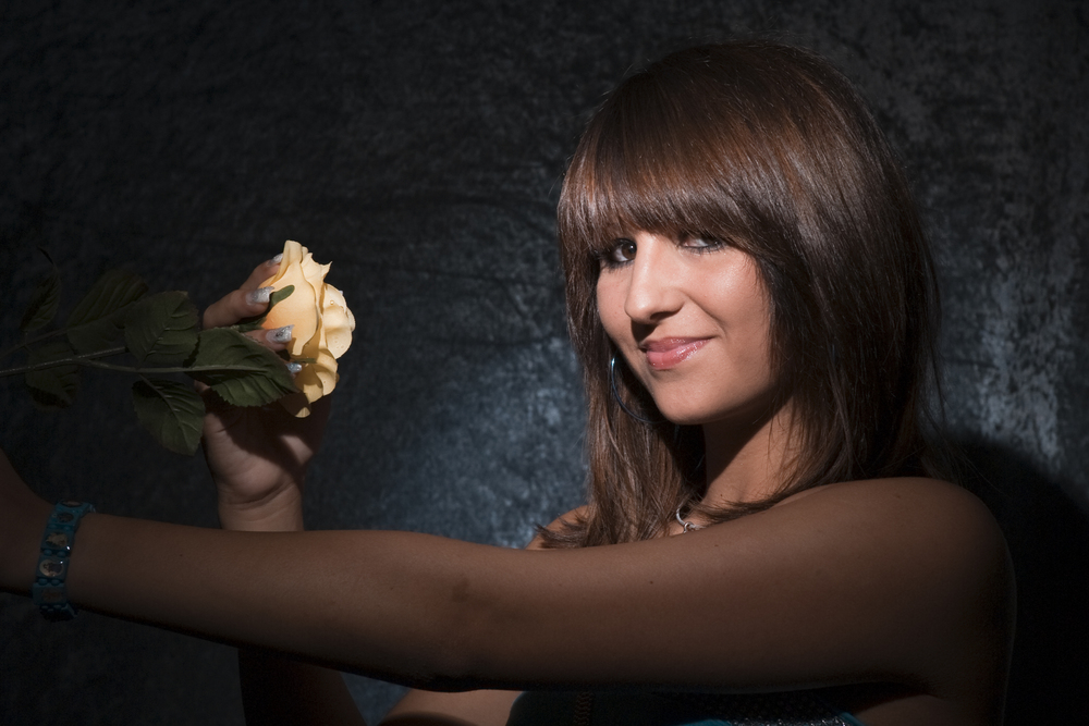 Gina - Eine Rose erblüht