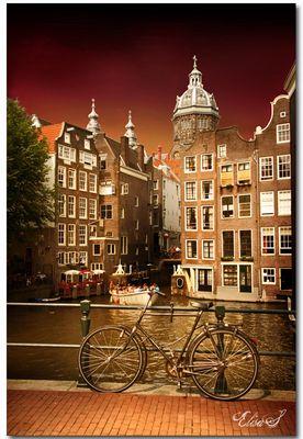 Giochi di colore ad Amsterdam...