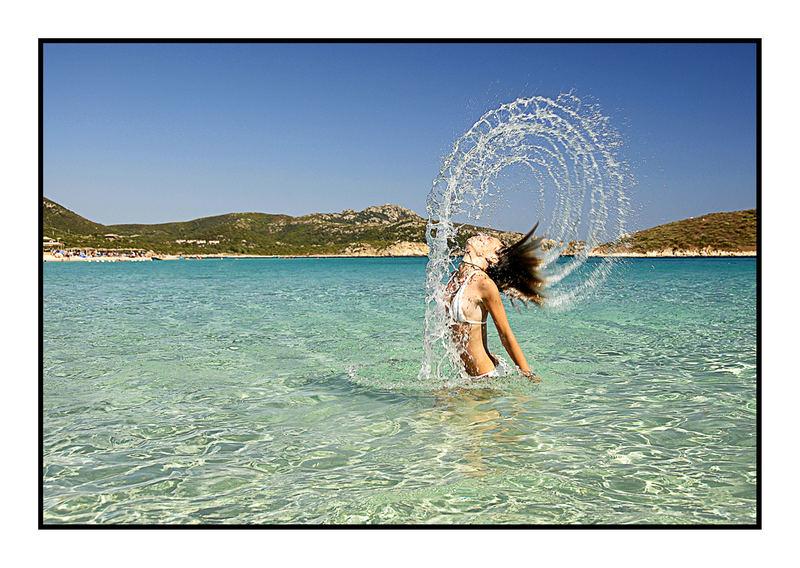 Giochi nell'acqua...