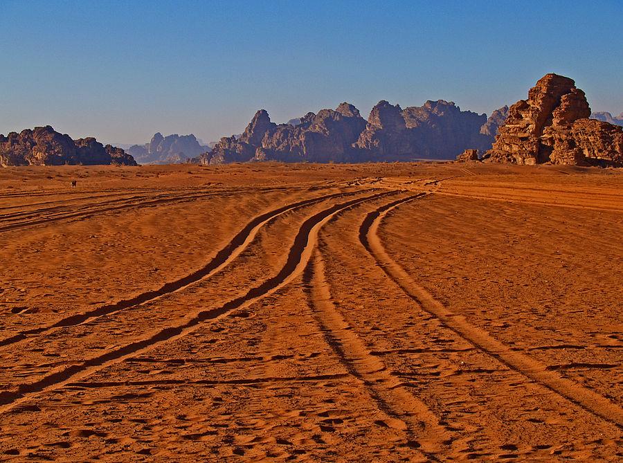 Giordania : Wadi Rum desert