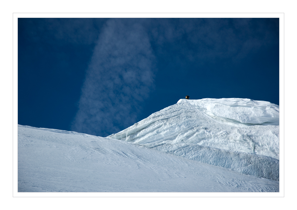 Gipfel Bishorn 4153m