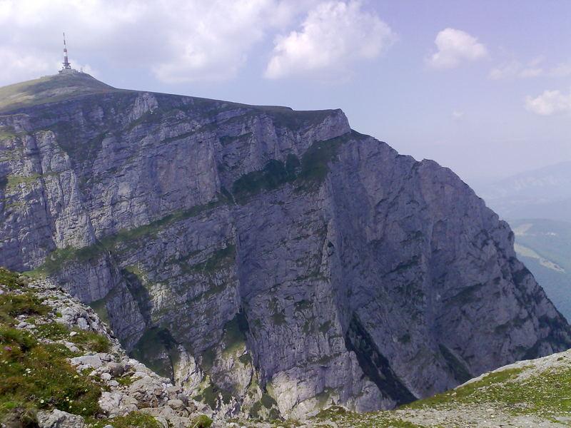Gipfel Costila (Bucegi Berge Rumänien)