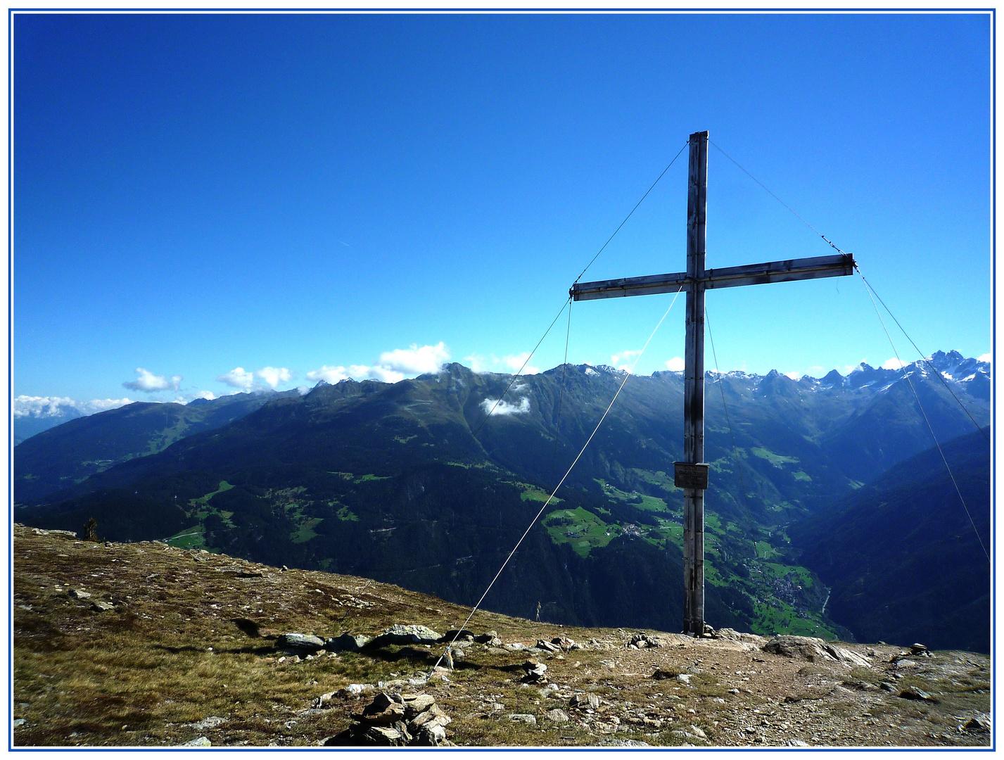 Gipfel Frommeskreuz 2247 m.ü.M