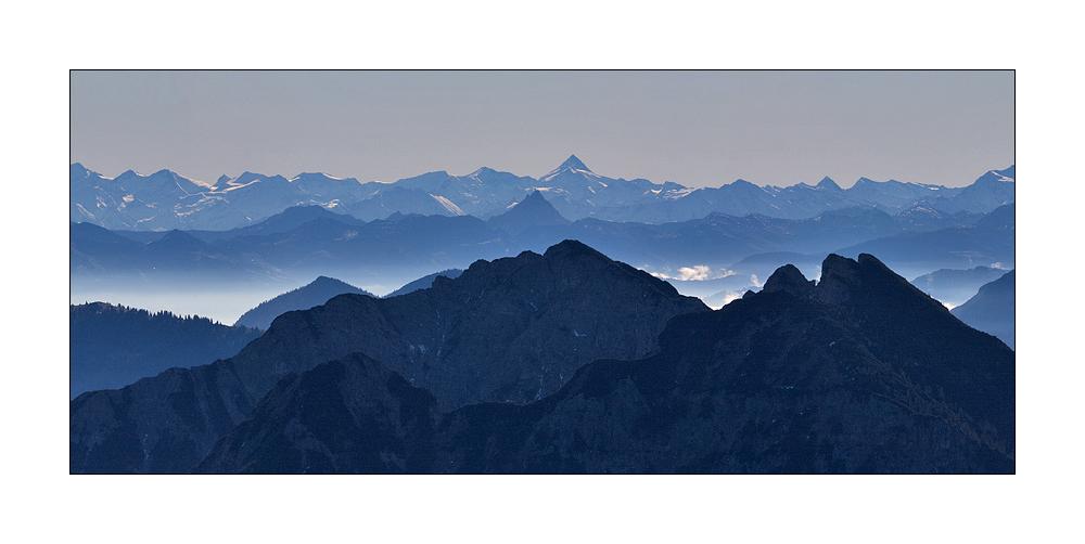 Gipfel im Herbstlicht #2