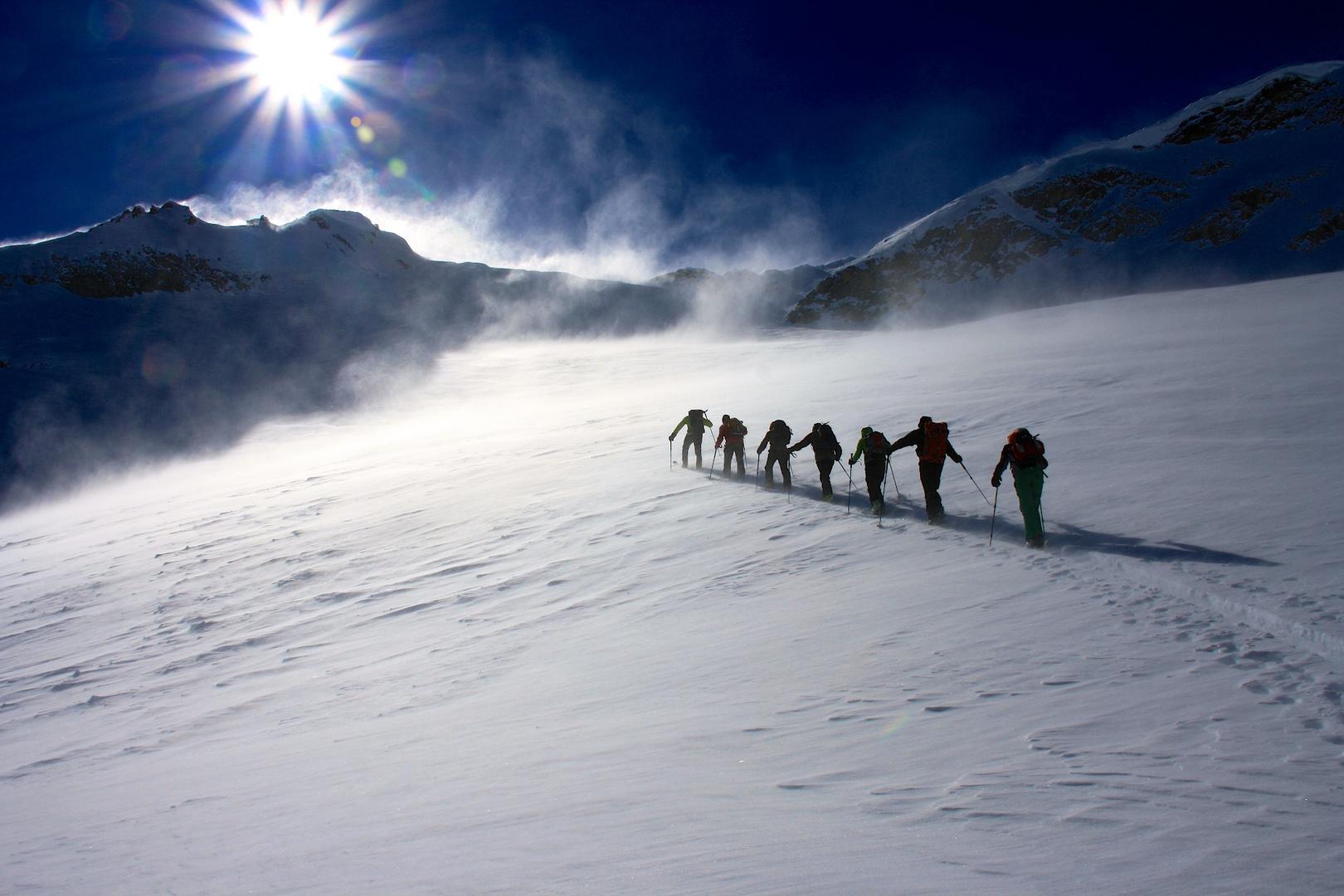 Gipfel in Aussicht