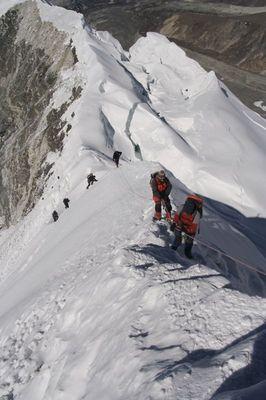 Gipfelgrat am Island Peak