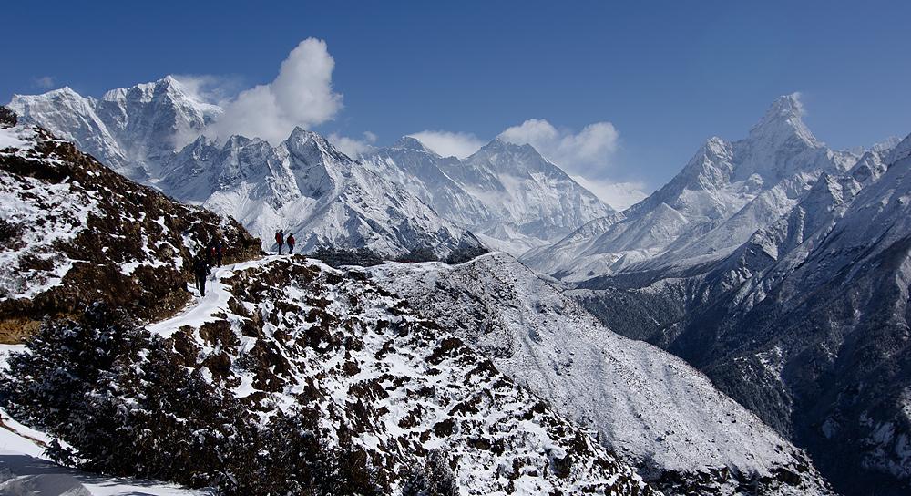 Gipfelkette....