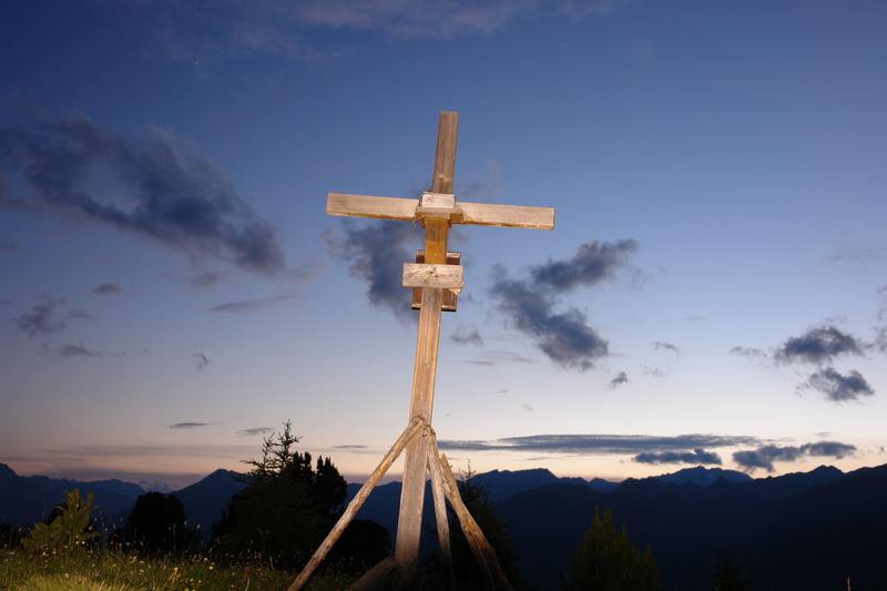 Gipfelkreuz am Tösneer Frudiger