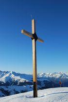 Gipfelkreuz Axamer Lizum