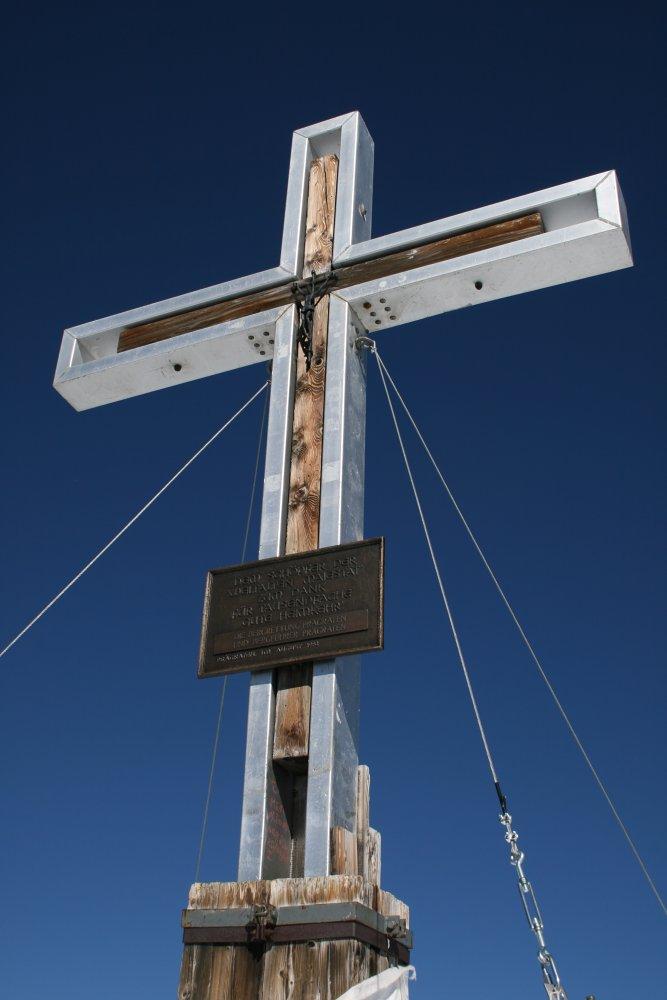 Gipfelkreuz Grossvenediger (3666 m)